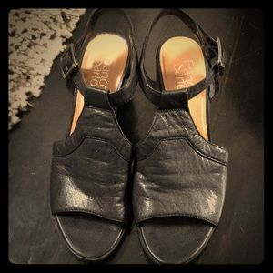 Franco Sarto Sandal leather